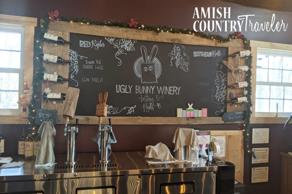 Ugly Bunny winery- Amish Country Ohio - Best wineries of Amish Country - Things to do in Ohio