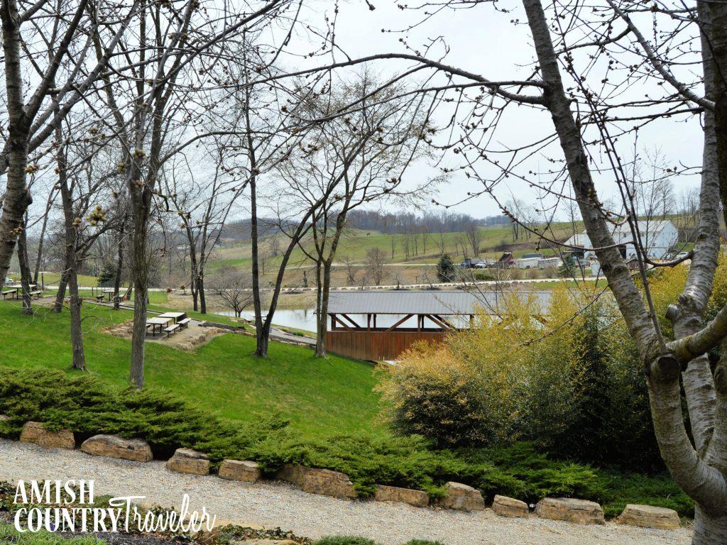 The Farm at Walnut Creek has a picnic area near the Dawdy house.