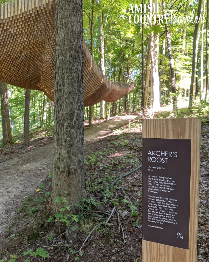 Things to do in Amish Country on a Sunday - Visit the Open Air Art Museum on the grounds of the Inn at Honey Run.